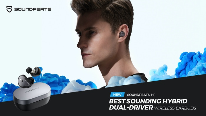 Hybrid dual-driver, Qualcomm® 3040 Bluetooth chip & patented crossover produce HiFi sound on the go, placing you on the stage center.
