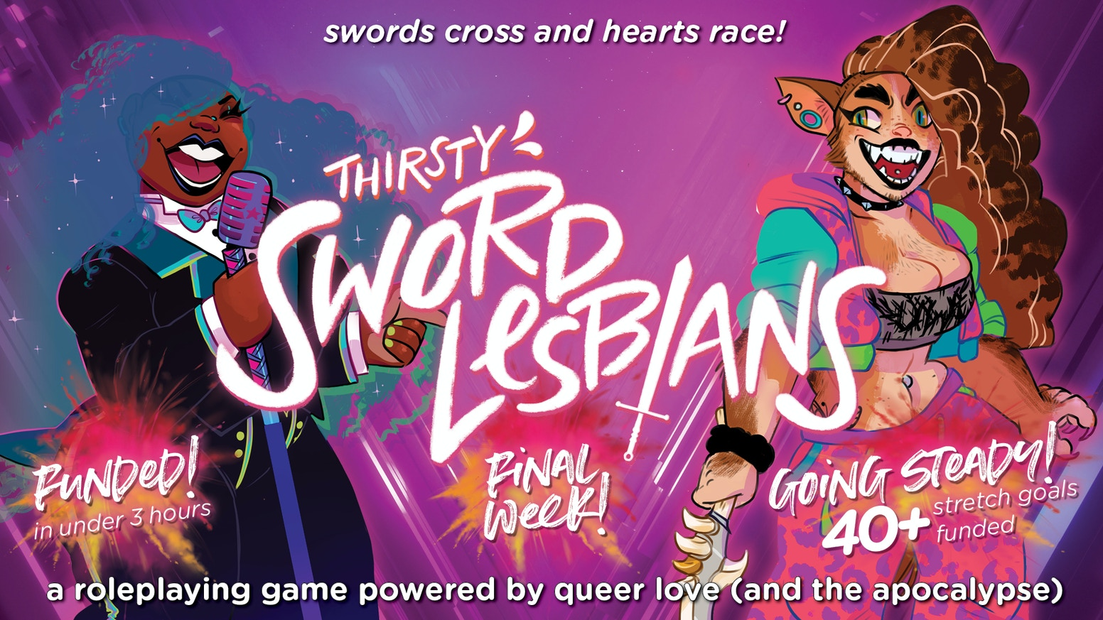 Thirsty Sword Lesbians by Fred Hicks / Evil Hat Productions — Kickstarter