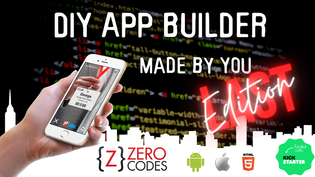 Zero Codes Last Edition - DIY App Builder for Everyone
