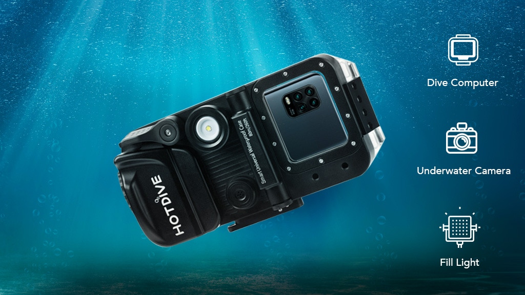 HotDive: Turn your phone into an all-in-one smart diving kit