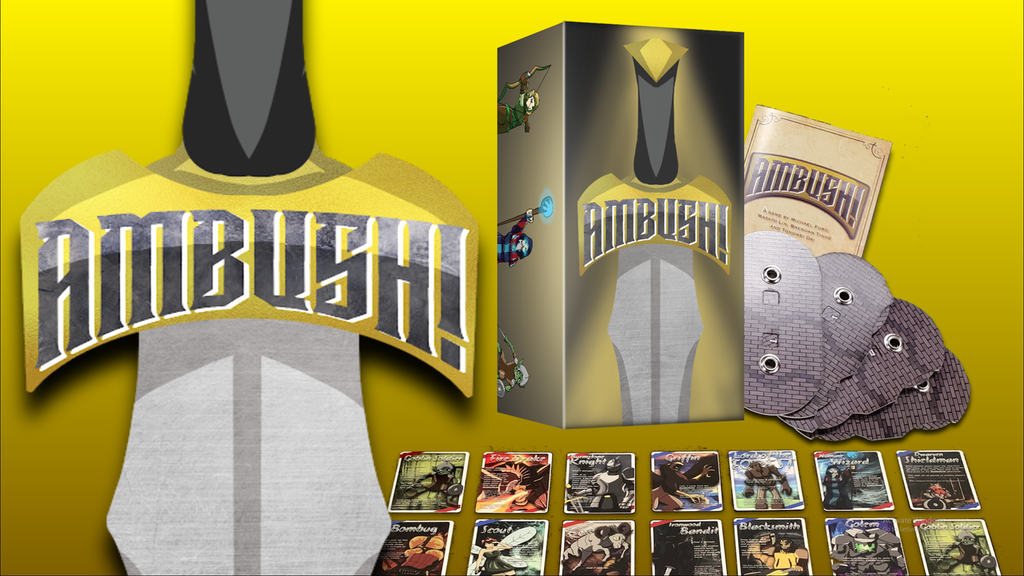Ambush!—reflexes meet strategy in this fast-paced card game! project video thumbnail