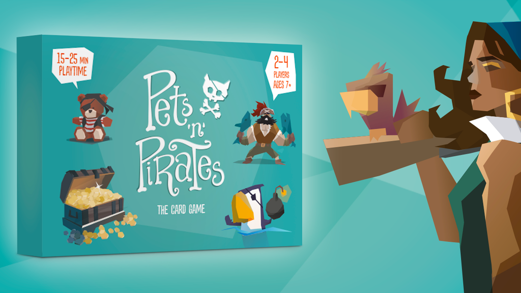 Pets 'n' Pirates - A Card game project video thumbnail
