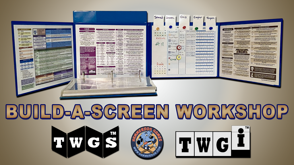Build A Custom Screen For 5th Edition, Pathfinder 1e, & MORE project video thumbnail