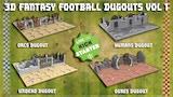 3D FANTASY FOOTBALL DUGOUTS VOL 1 thumbnail