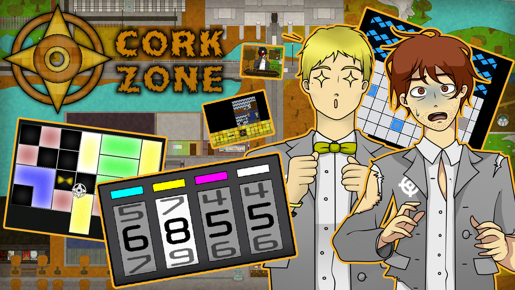 Project image for Cork Zone - 2D Adventure/Puzzle Game