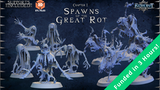 Spawns of the Great Rot - Printable stl 3d miniatures thumbnail