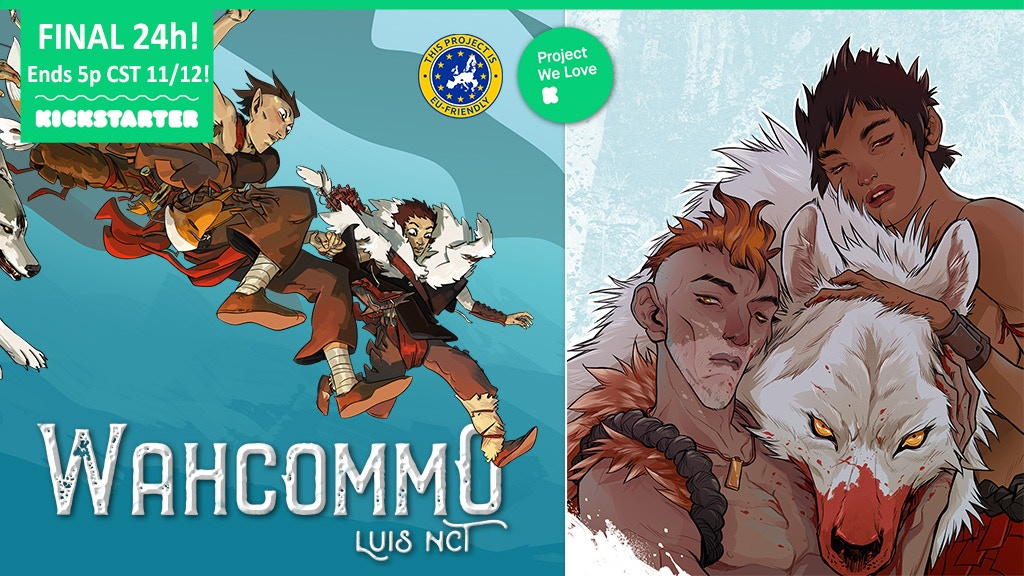 WAHCOMMO: a sprawling dark fantasy graphic novel by Luis NCT project video thumbnail
