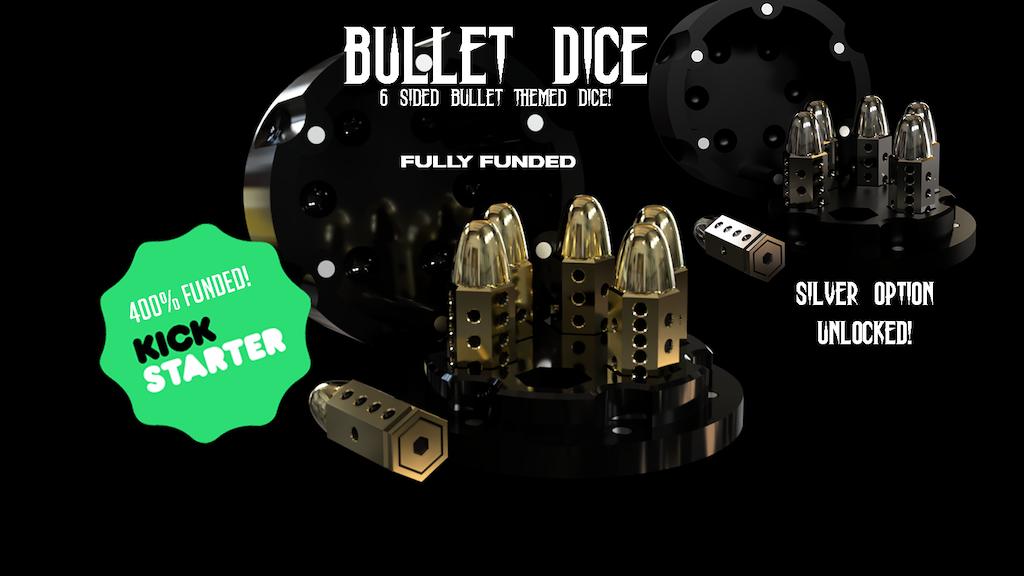 Project image for Metal Bullet Dice! D6 set