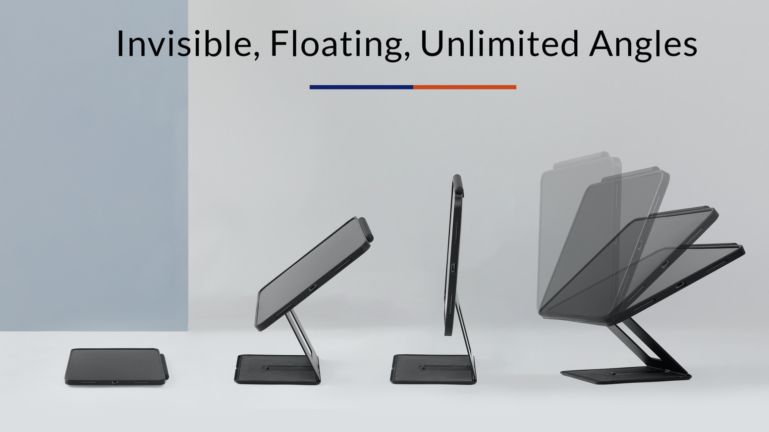 MOFT Float: Invisible Stand&Case for iPad Pro&New iPad Air