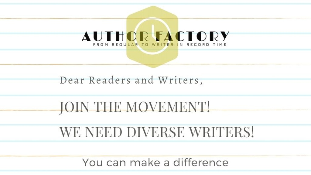Author Factory: A Writing Oasis for Diverse Writers