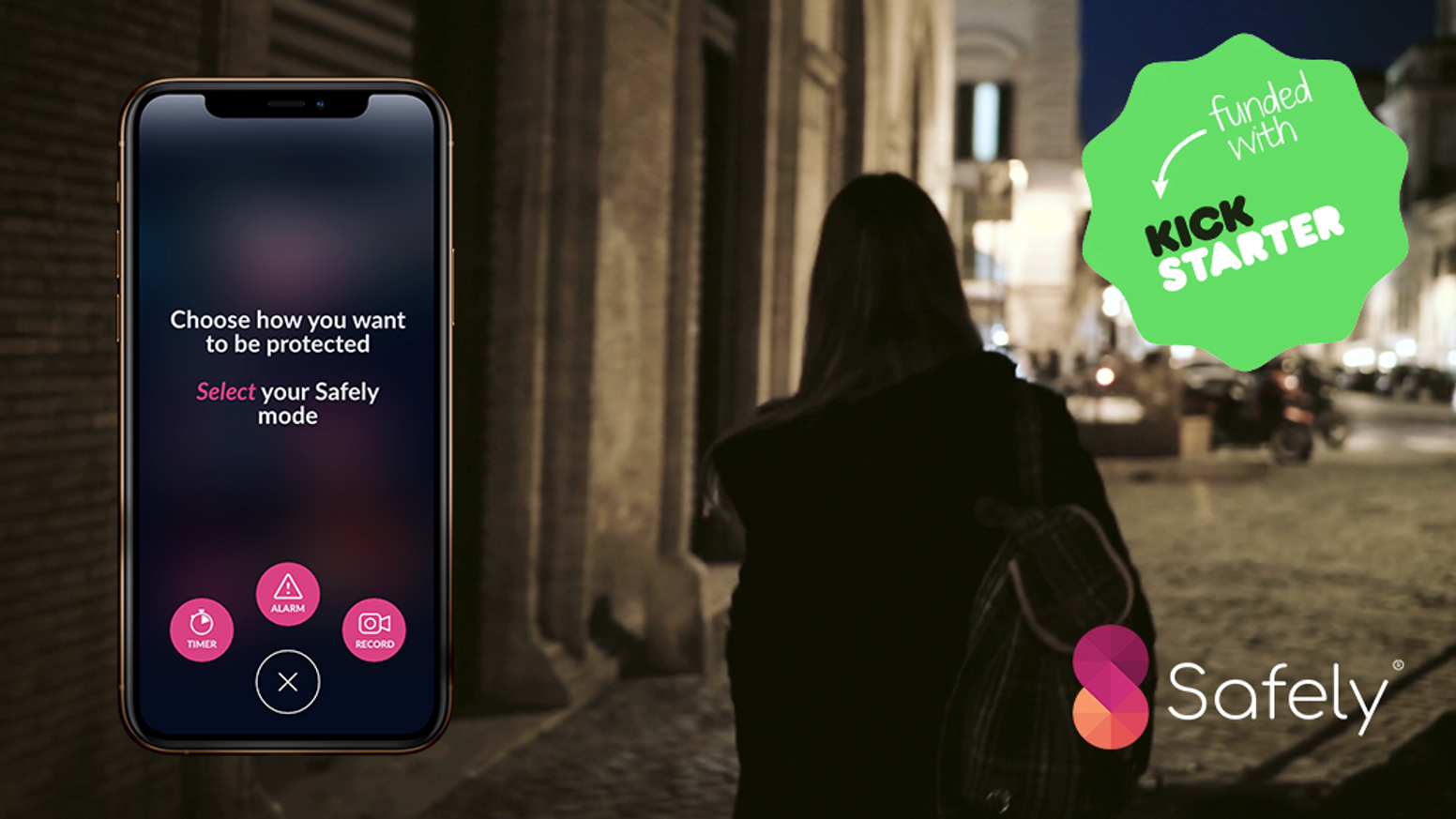 Safely Peer-to-Peer Women's Safety App by Safely — Kickstarter