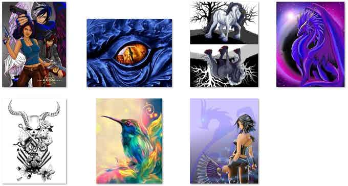 Various Art Prints available