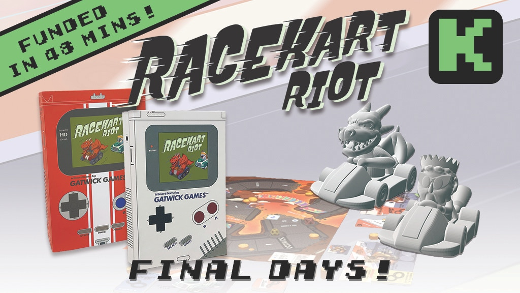 RaceKart Riot! Board Game: #2 in the Retro Game Series project video thumbnail