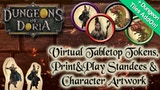 Dungeons of Doria: VTT Tokens, P&P standees and artwork thumbnail