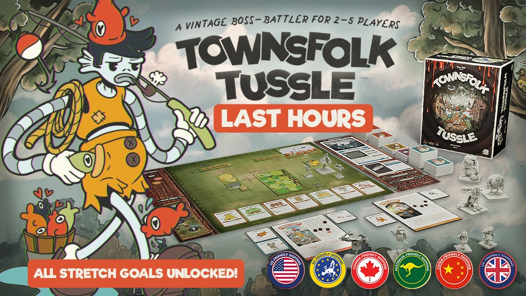 Townsfolk Tussle project video thumbnail