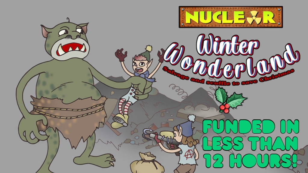 Project image for Nuclear Winter Wonderland! The festive roleplaying game.