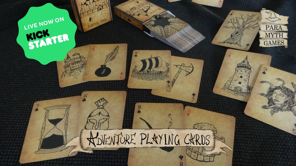 Adventure Playing Cards. project video thumbnail