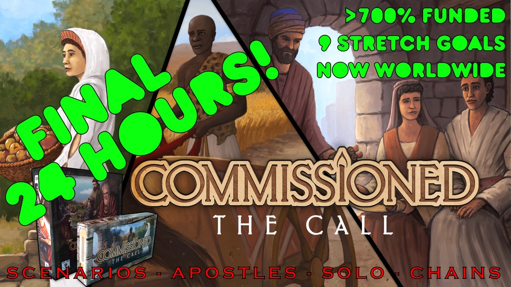 Commissioned: The Call project video thumbnail