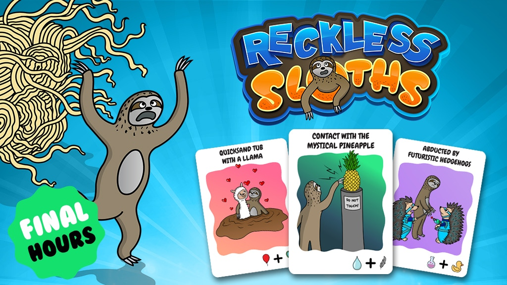 Reckless Sloths project video thumbnail