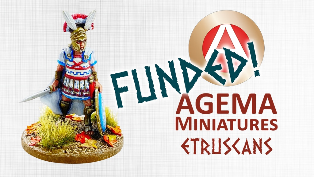 Project image for Etruscan Warriors - 28mm miniatures from Agema Miniatures