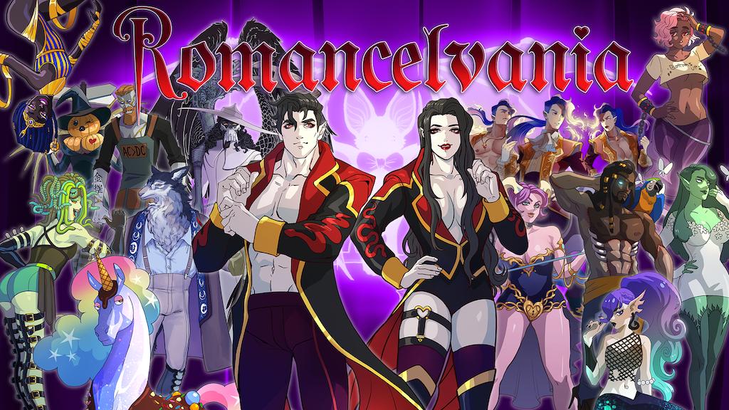 Romancelvania - a hilarious video game genre mashup project video thumbnail