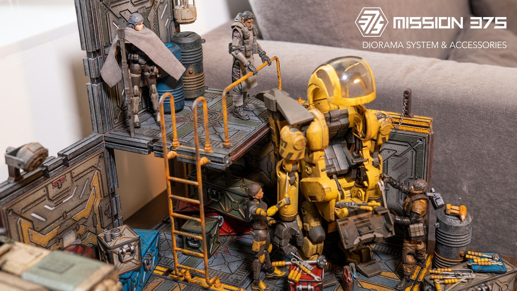 Mission 375 Diorama System & Accessories