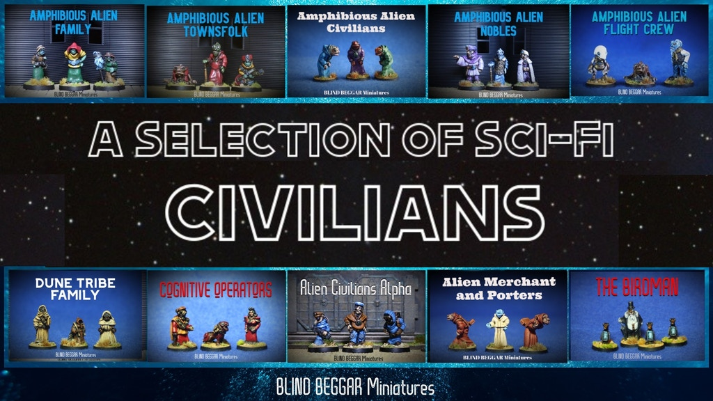 Project image for A Selection Of Sci-Fi Civilians (Canceled)