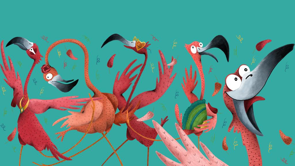 Floyd the Flamingo Likes to Flamenco : A Sight Word Reader