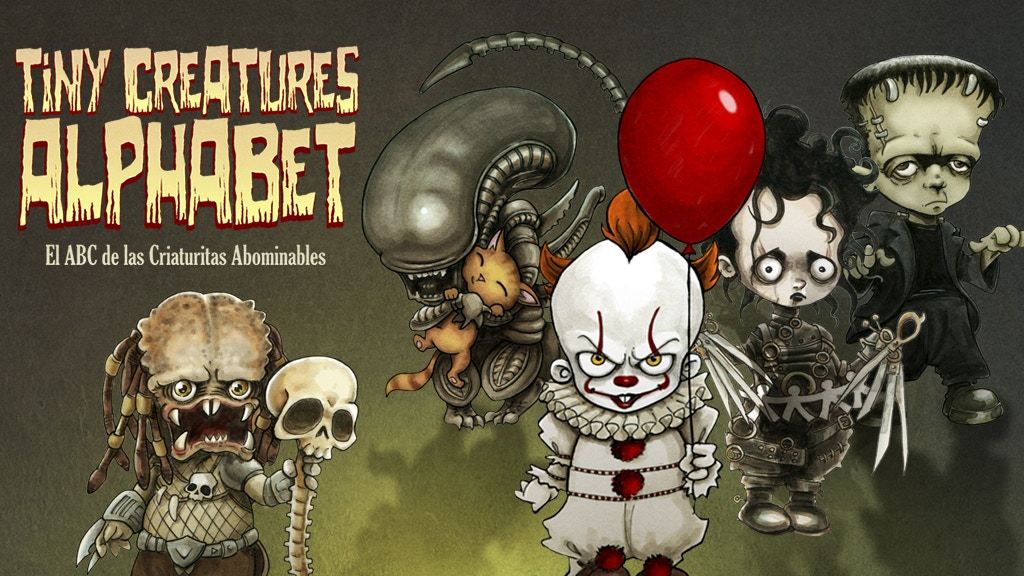 Tiny Creatures Alphabet. El ABC de las criaturas abominables project video thumbnail