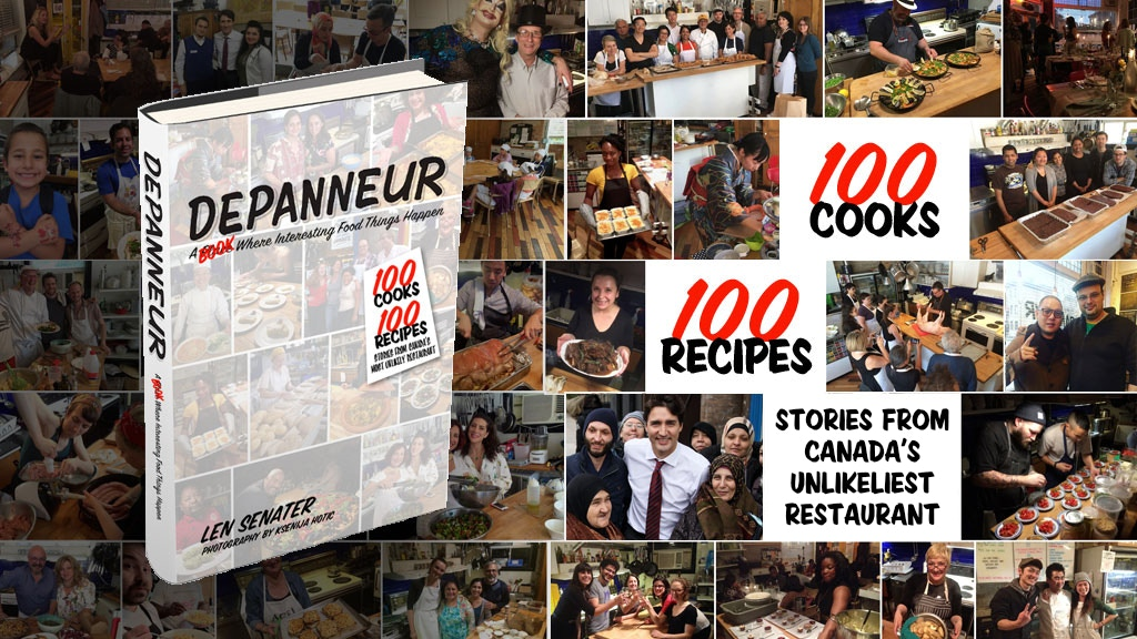 The Depanneur Cookbook