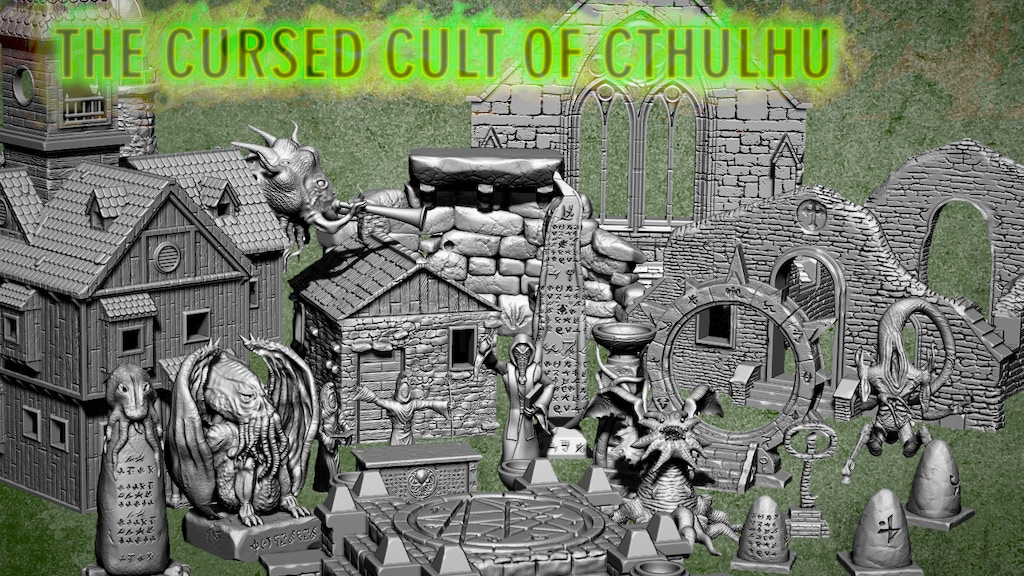 Project image for The Cursed Cult of Cthulhu