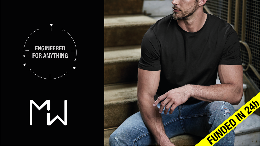 The MW T-Shirt. Engineered for Anything. All- Purpose Wear.