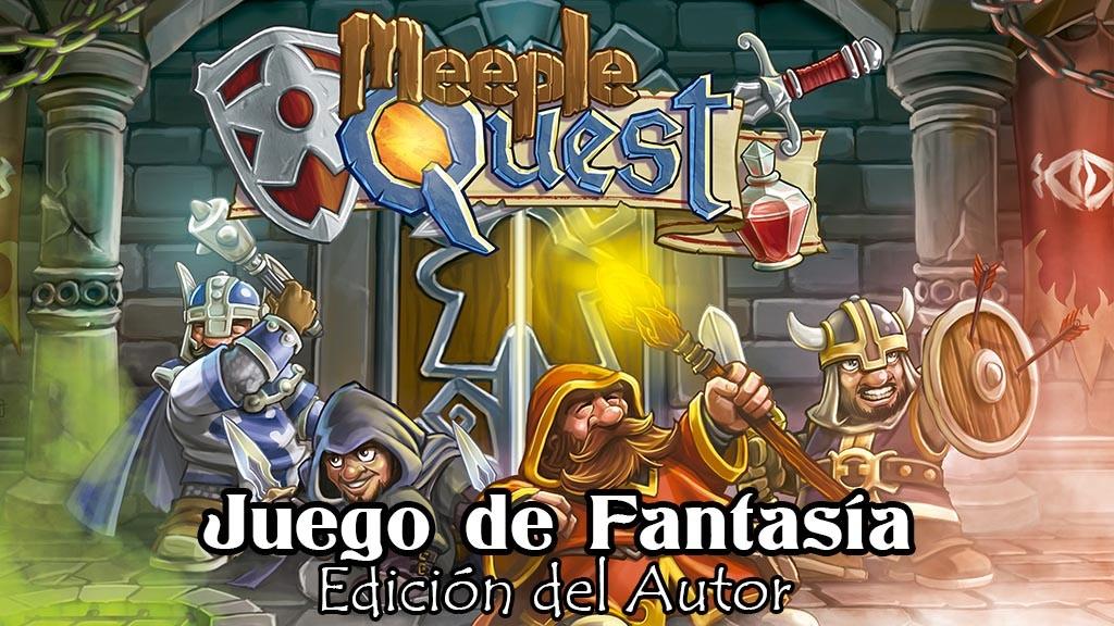 Project image for Meeple Quest - Edición del Autor