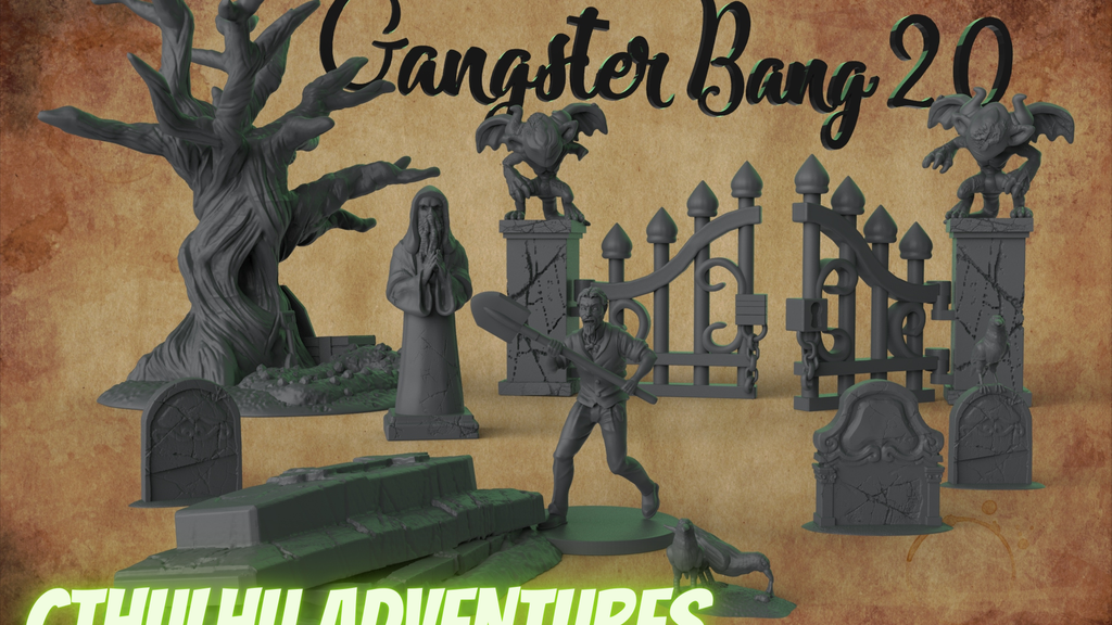 Project image for Gangster Bang 2.0 Cthulhu