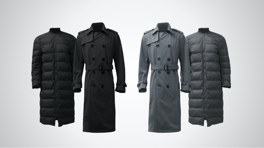 The Trench Coat Re-invented