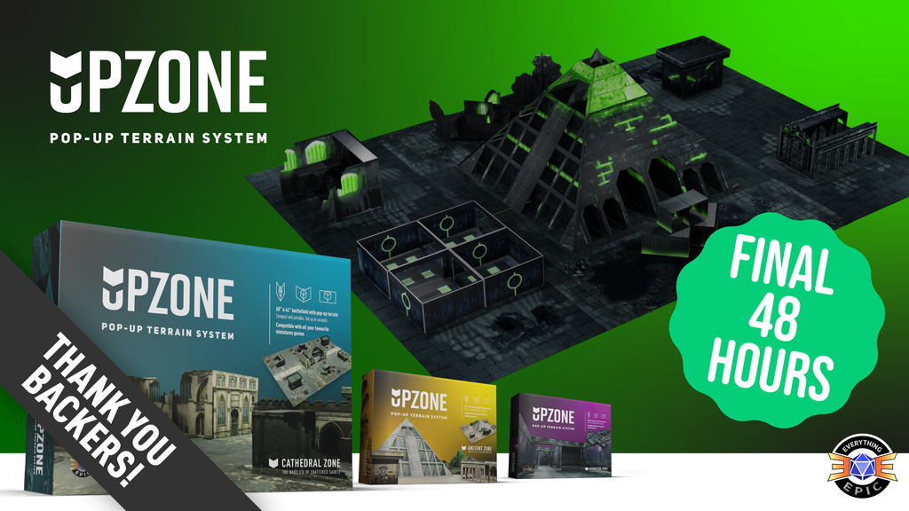 Upzone - The Pop Up Wargaming & RPG Terrain System project video thumbnail