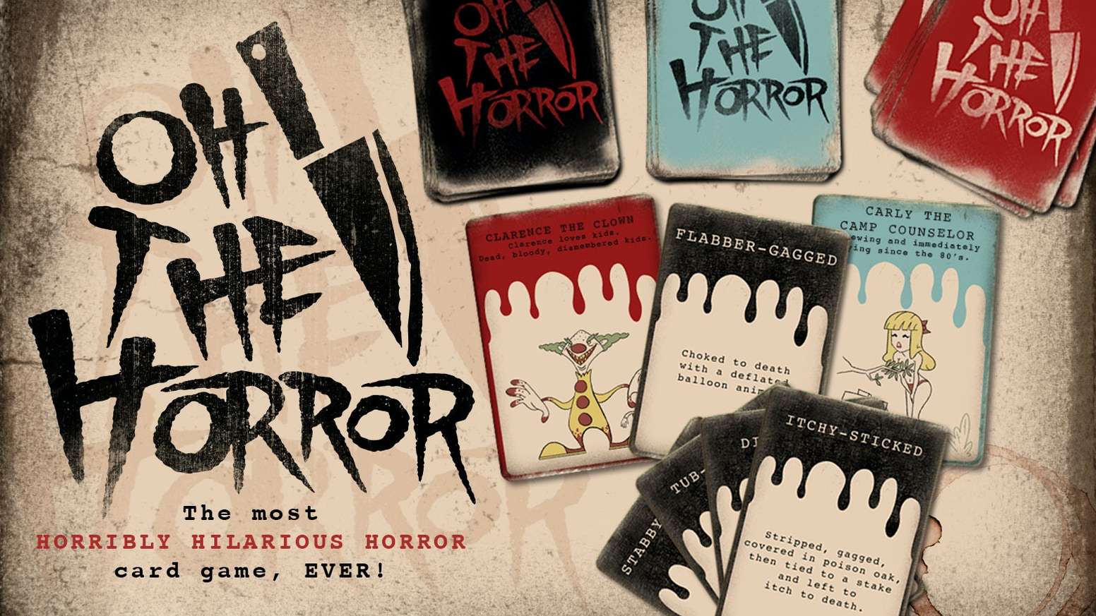 Oh, The Horror! by OH, the HORROR! — Kickstarter