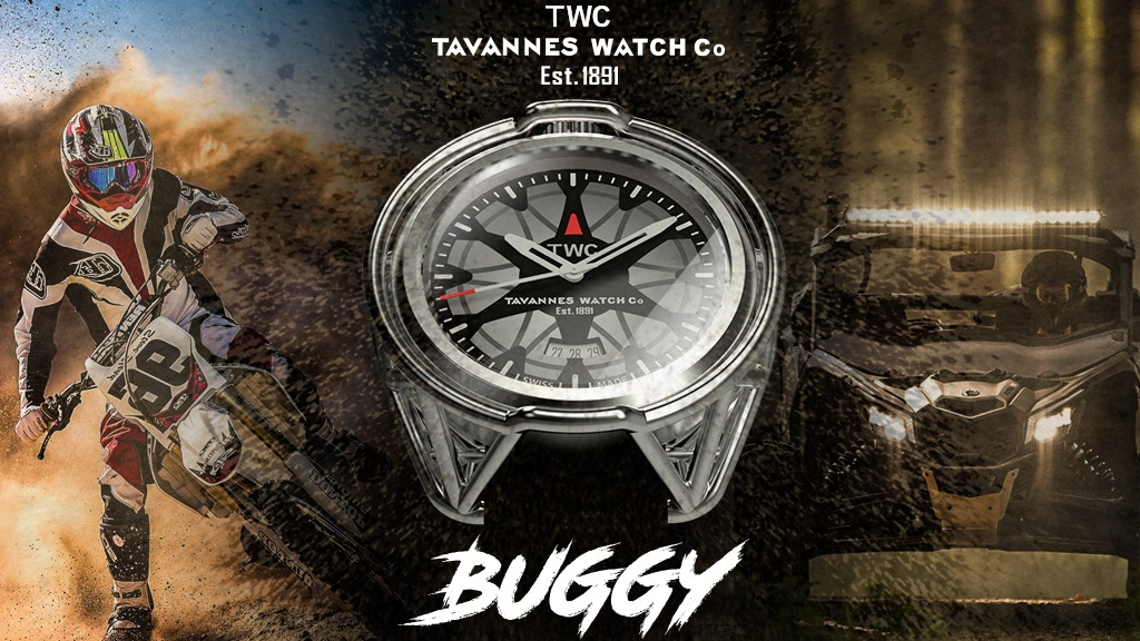 The Buggy Watch by Tavannes Watch Co.