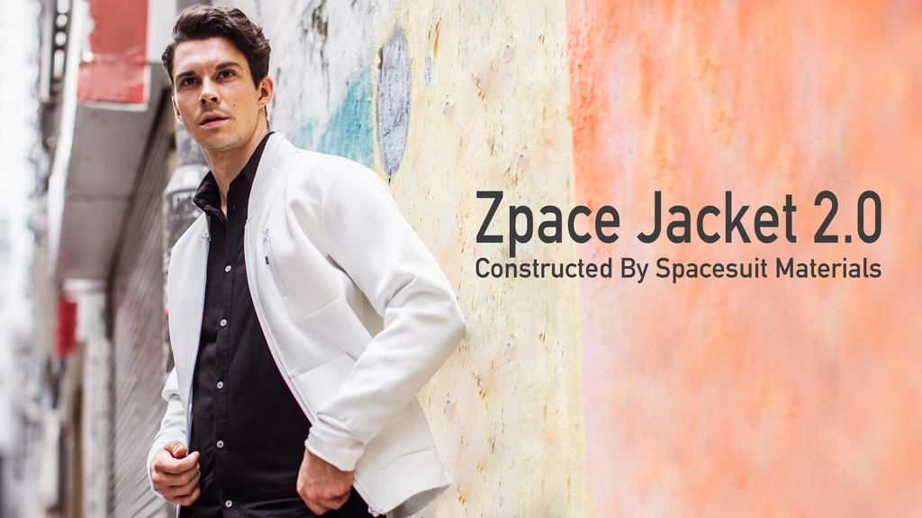 Zpace Jacket 2.0 : Constructed By Spacesuit Materials