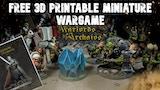 The Free 3D Printable Miniature Wargame thumbnail