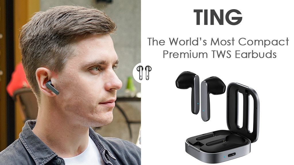 Ting: The World's Most Compact Premium TWS Earbuds