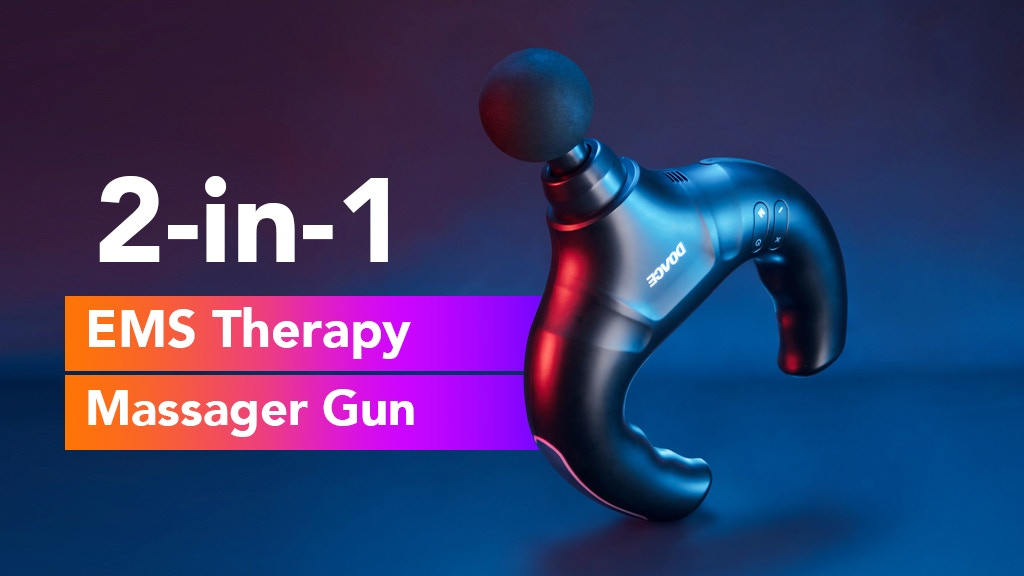 DOACE - Massager Gun With EMS Electric Pulse Massage