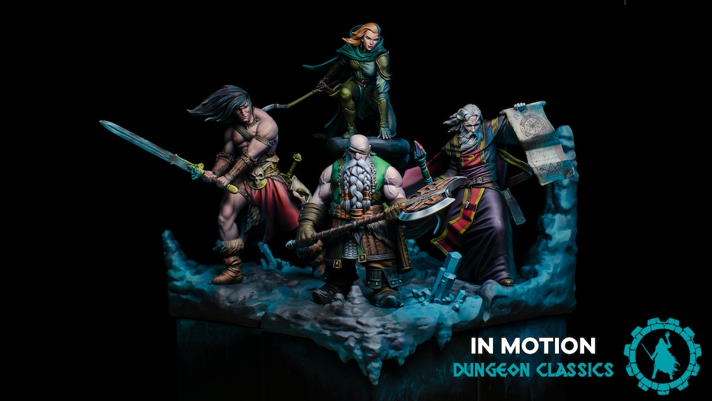 Dungeon Classics by In Motion Creations