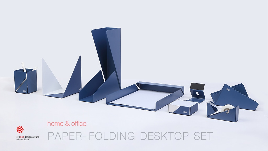 The Origami: the ultimate home office Desk Organizer