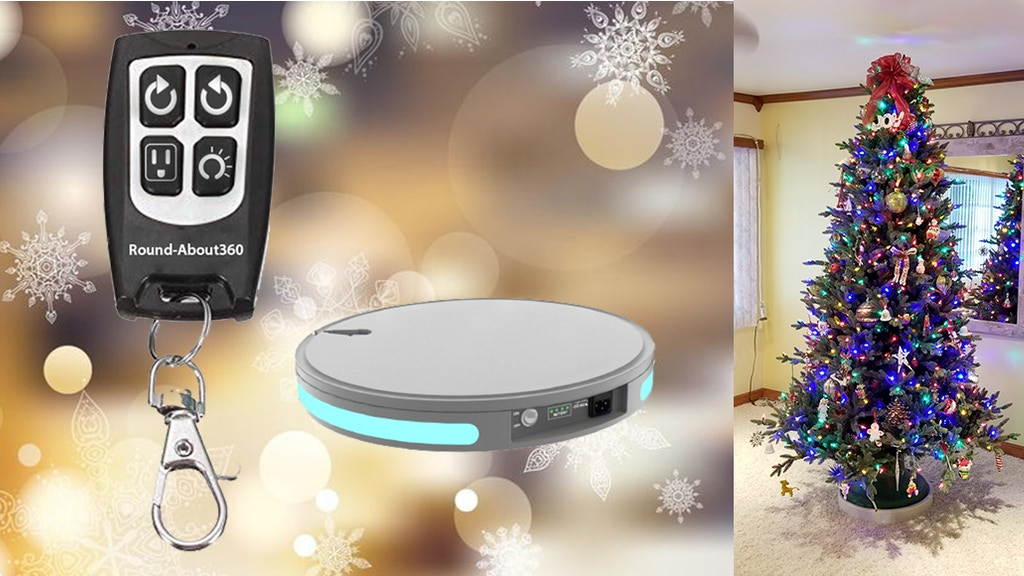 Round-About360: A Remote Controlled Rotating Platform