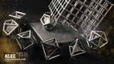 KLEC – Polyhedral Metal Dice Set - Inspired by a Caged Jail thumbnail