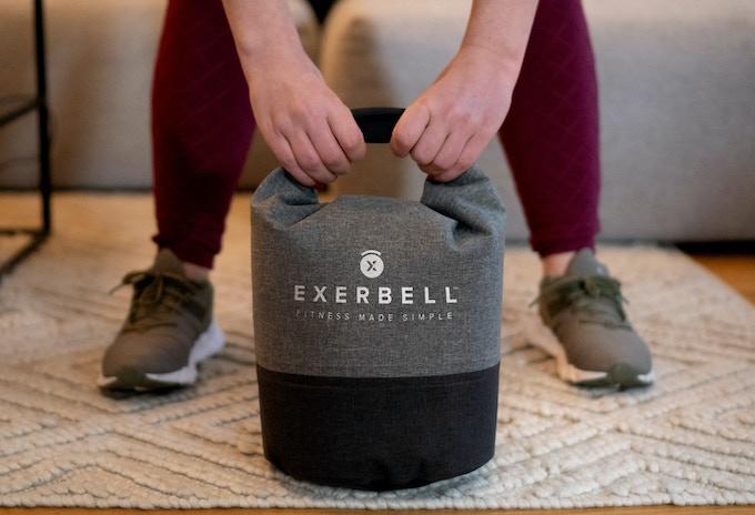 Exerbell 超強負重摺疊水壺鈴