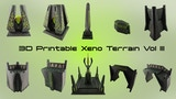 3D Printable Xeno Terrain Vol III thumbnail