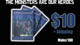 The Monsters Are Our Heroes Print Tabletop RPG Zine thumbnail