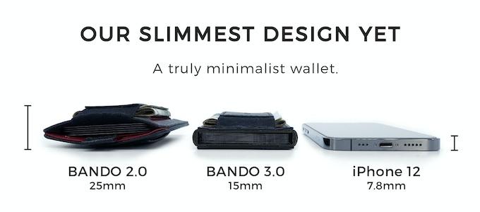 BANDO 3.0 超薄錢包卡片短夾